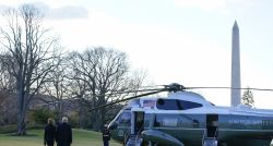 Donald Trump deixa a Casa Branca e vai para resort na Flórida horas antes da posse de Joe Biden